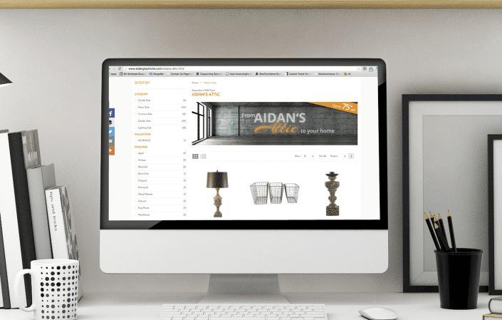Aidan Gray - Ecommerce Web Design
