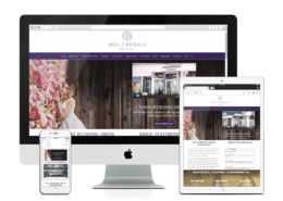 Wordpress Website Design Molle Bridals