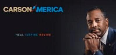 Worst Political Logos of 2016 - Carson America Logo Black
