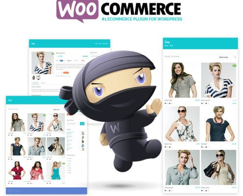 Screenshot of Woocommerce
