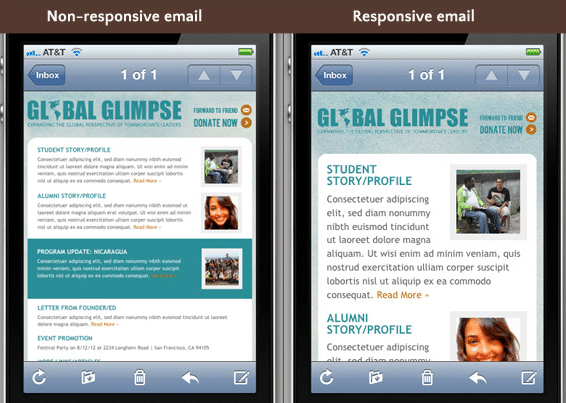 Email Marketing Mobile Friendly Email Examples
