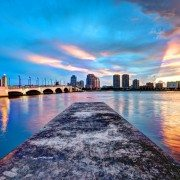 west-palm-beach-florida-sunset