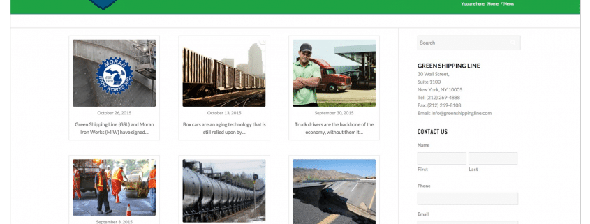 content-marketing-green-shiping-line