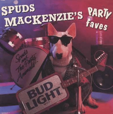 Graphic Design - 1980's Spuds Mackenzie's Ad