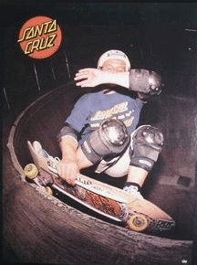 Graphic Design - 1980's Santa Cruz Ad