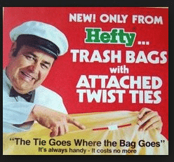Graphic Design - 1980's Hefty Trash Bags