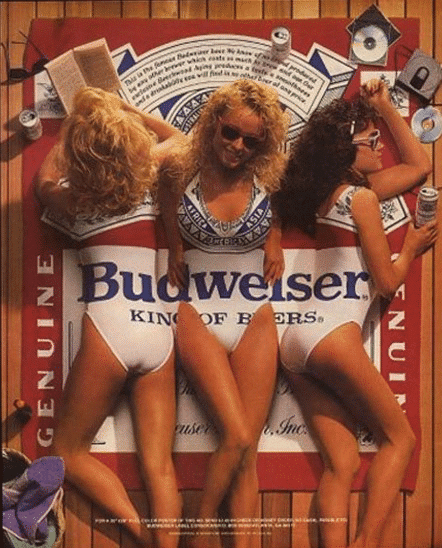 Graphic Design - 1980's Budweiser Ad