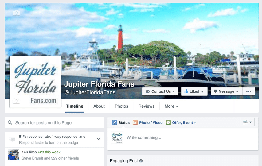 Jupiterfloridafans.com Facebook Page - Restaurant Tips Jupiter, Florida