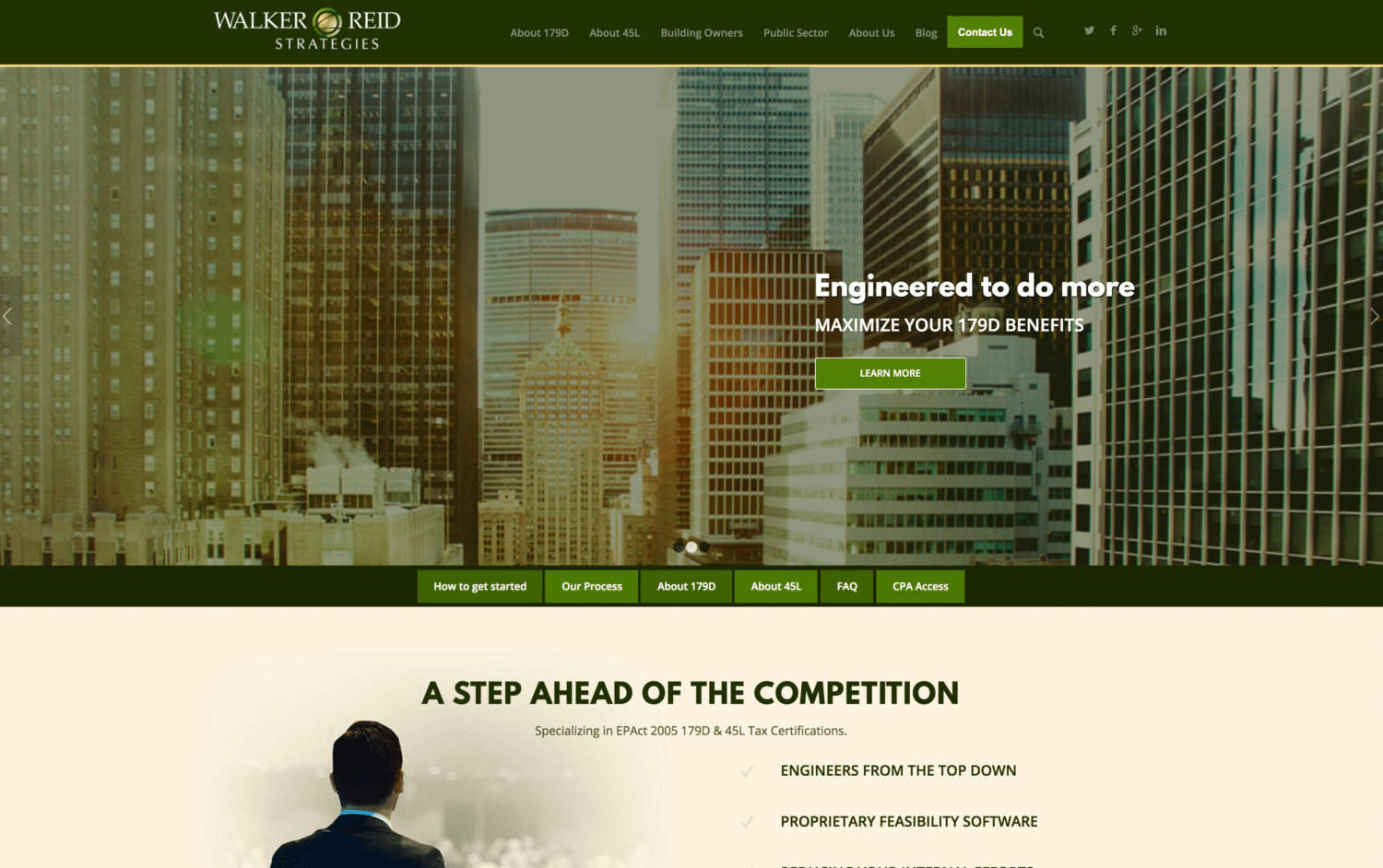 website designed and developed by professionals