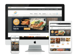 WooCommerce Website Design Custom Seafood
