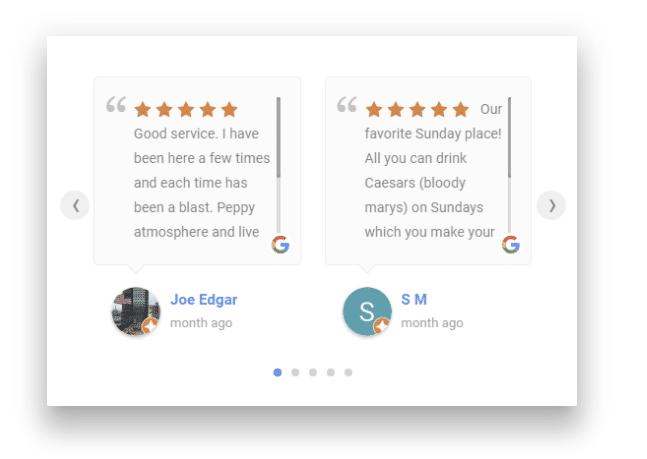 Google Reviews Plugin