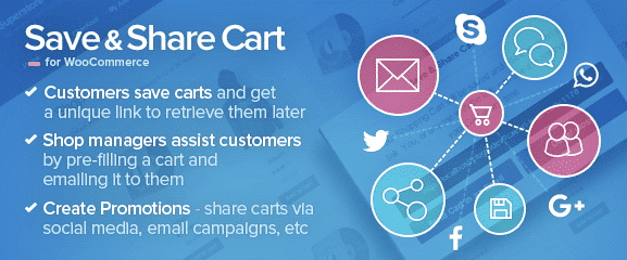 Save & Share Cart for WooCommerce