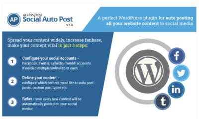 AcessPress Social AutoPost