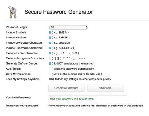Adjust your passwords - WordPress Security