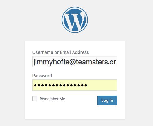 Change the admin username - WordPress Security