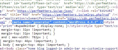 Remove your WordPress version number - WordPress Security