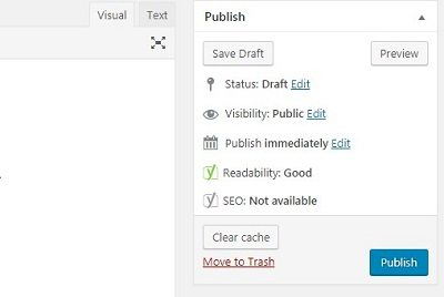 Publish - Yoast SEO