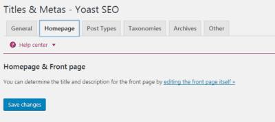 Yoast - Homepage