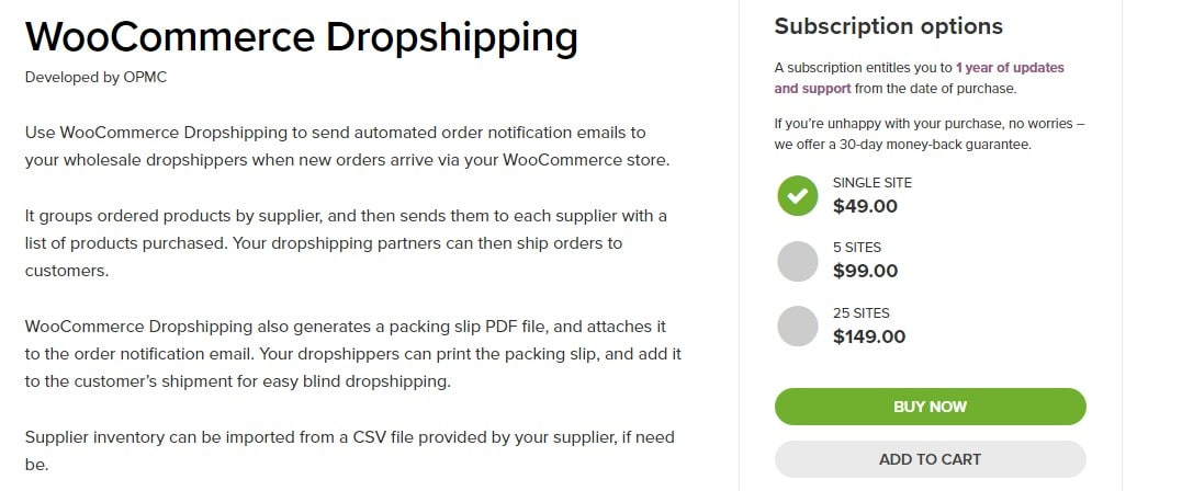 WooCommerce Dropshipping