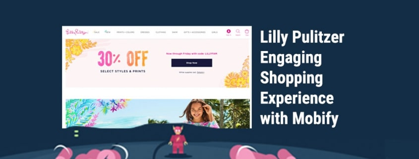 Lilly Pulitzer Engaging Shopping Experience with Mobify