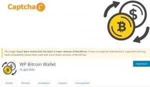 WP Bitcoin Wallet