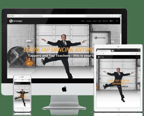 WooCommerce and Wordpress Website - Tap Academy