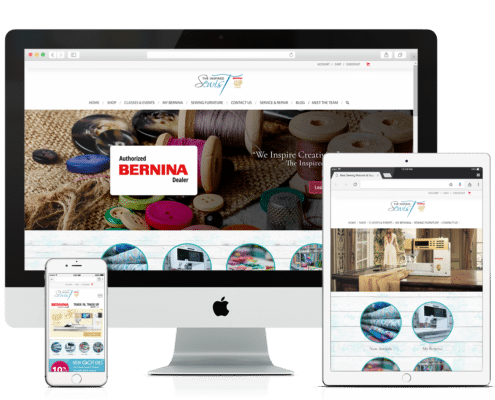 WooCommerce and Wordpress Website - Inspired Sewist