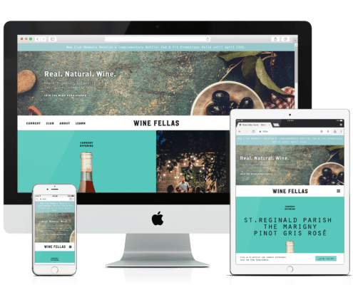 WooCommerce Website Design - Wine Fellas