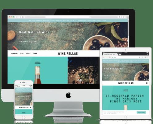 WooCommerce Website Design - Wine Fellas
