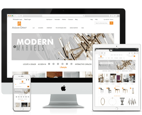 WooCommerce Website Design Aidan Gray