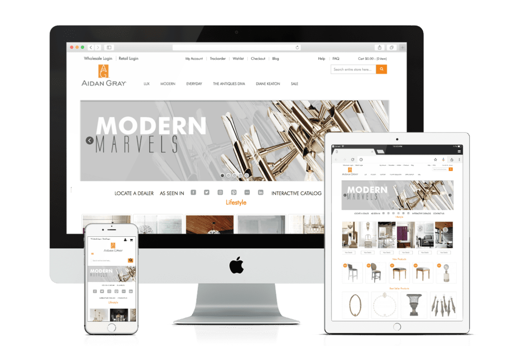 WooCommerce Website Design AidanGray