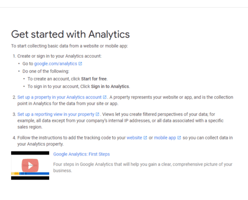 Get started with Analytics