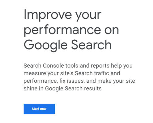 Google Console tools