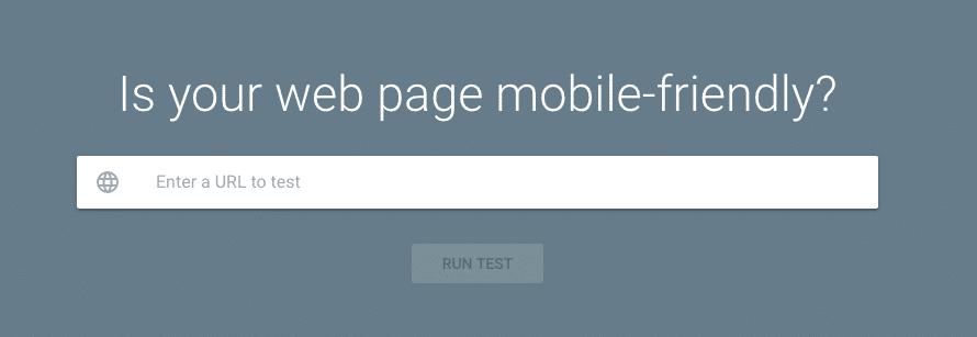 Take Google's mobile-friendly test
