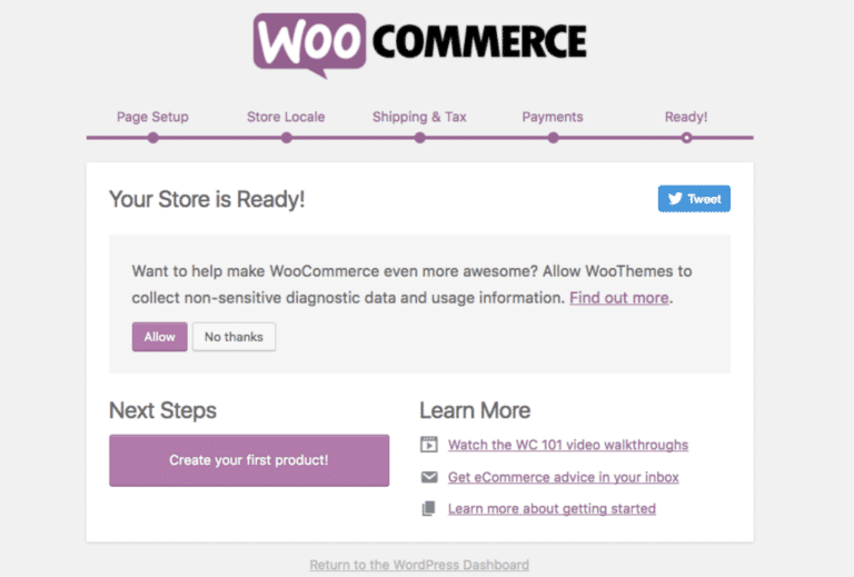 WooCommerce Set Up Tutorial