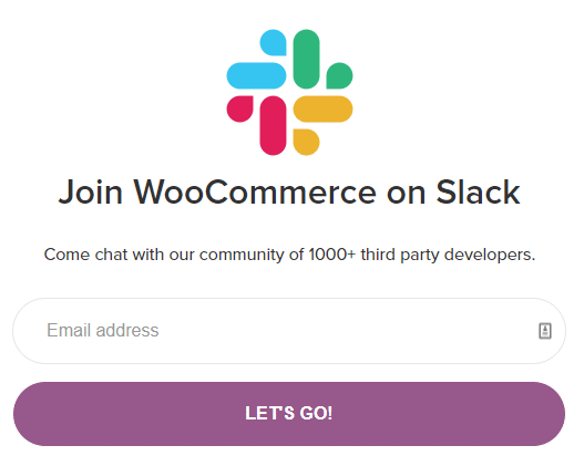 WooCommerce Support - Slack