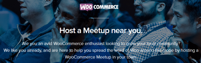 Woocommerce Meetup Groups