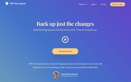 Wordpress Maintenance Backup Solution