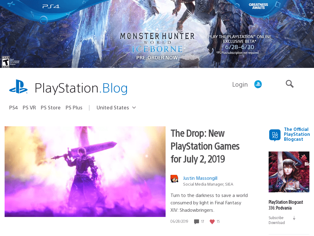 Best WordPress Design - PlayStation.Blog