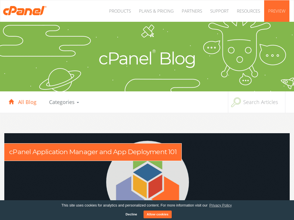 Best WordPress Design - cPanel Blog