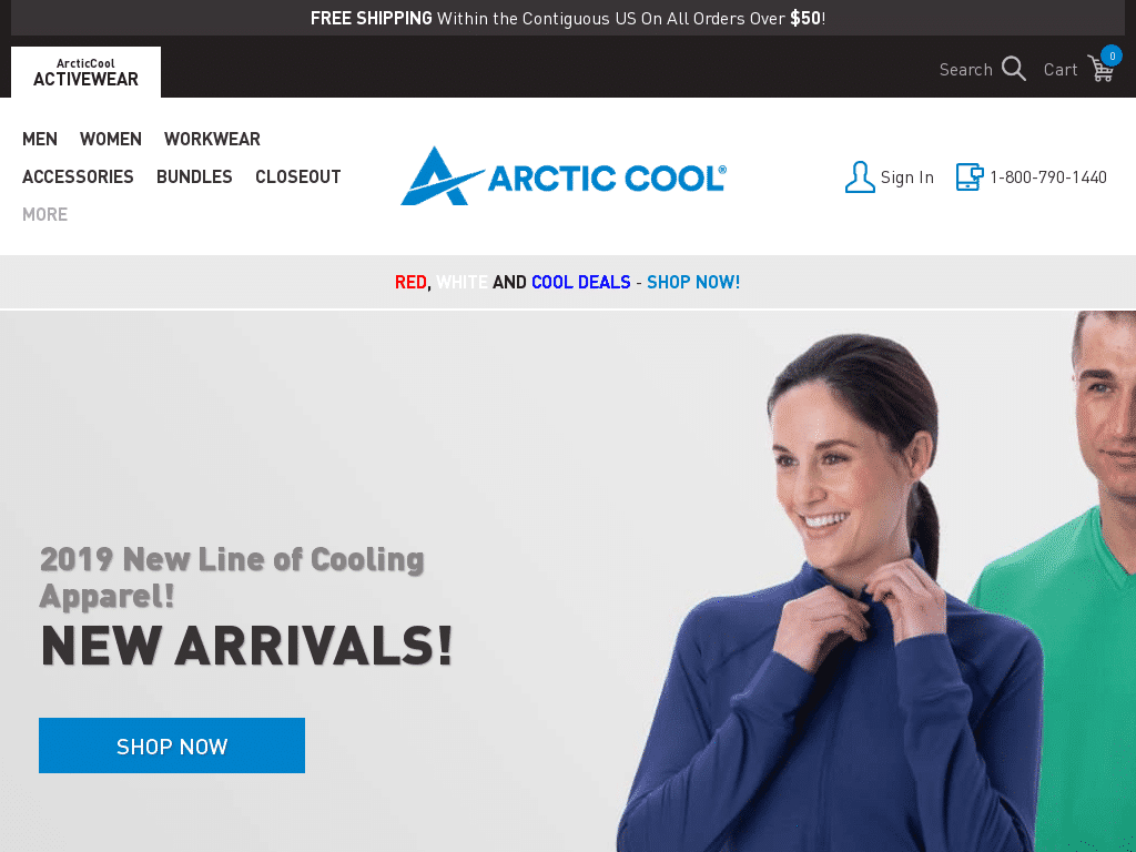 Best WordPress Design - Arctic Cool
