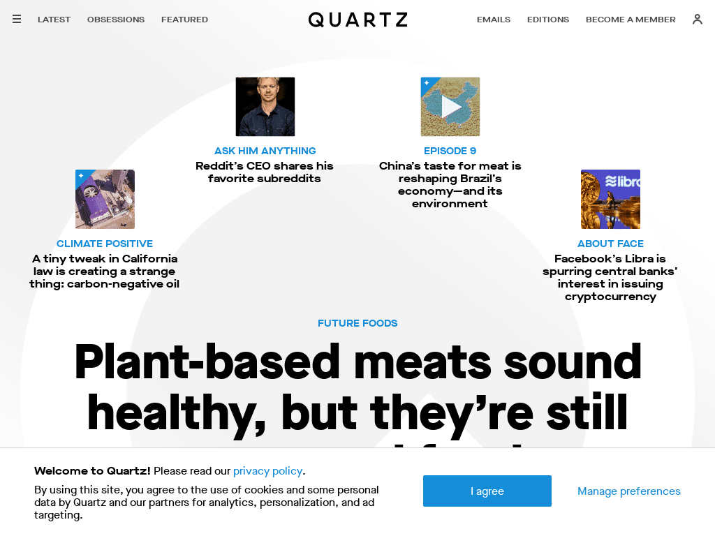 Wordpress Design - Quartz