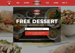Boston Market Wordpress Design