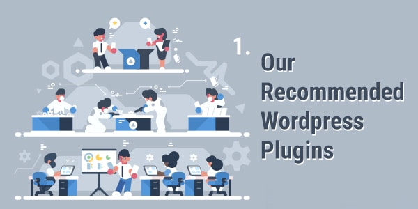 Our Recommended WordPress Plugins Banner