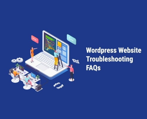 wordpress website troubleshooting faqs
