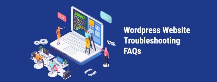 wordpress website troubleshooting faqs