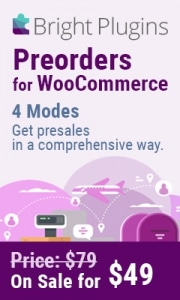 WooCommerce Preorder Plugin