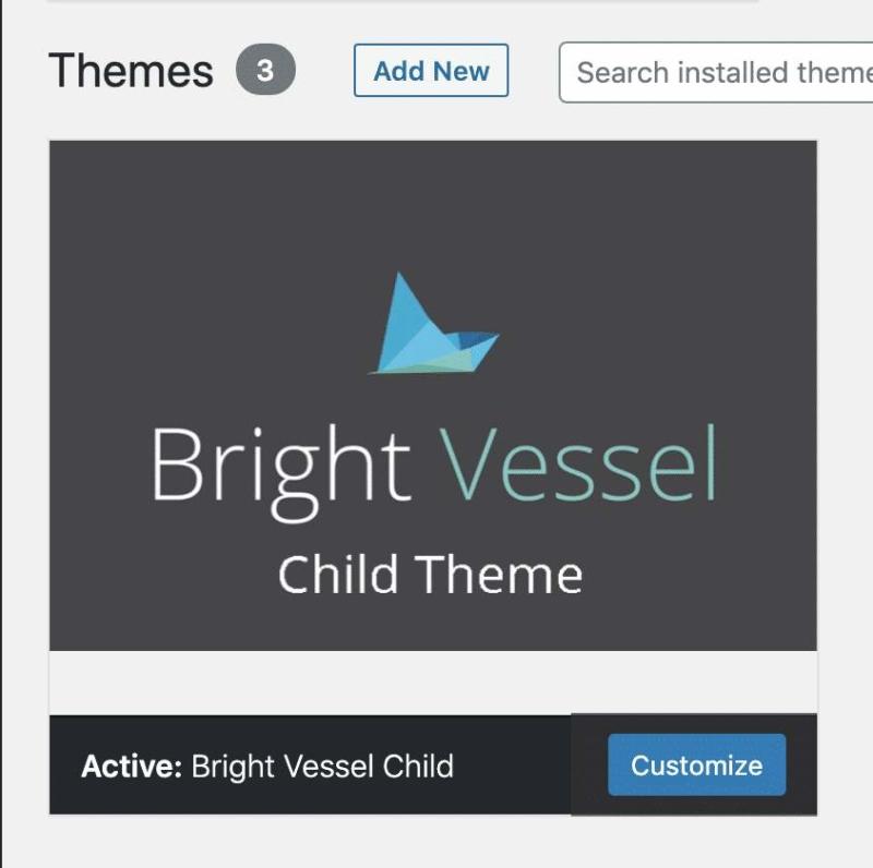 WordPress 5-5 Inline Theme Updating