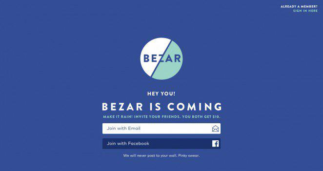 Bezar WordPress Coming Soon Page