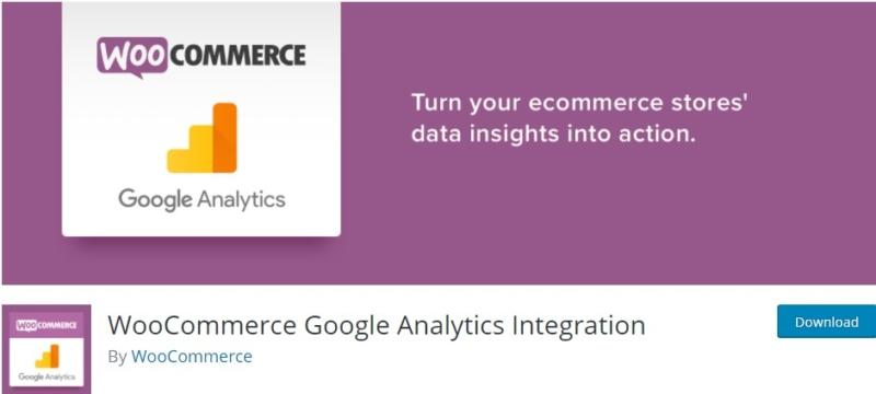 Google Analytics Integration tool for WooCommerce